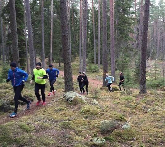 8d4c85faefc Traillöpning innebär att man lämnar asfalten och istället springer i skogen  – på stigar eller i helt obanad över stenar och naturliga hinder som skogen  har ...