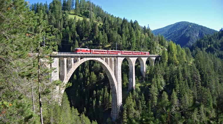 Train of the Rhaetian Railway