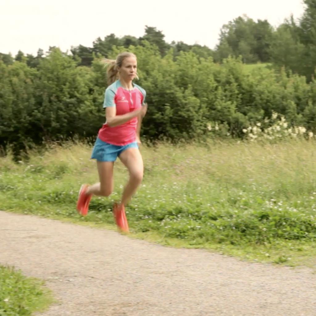 spänsthopp för löpare