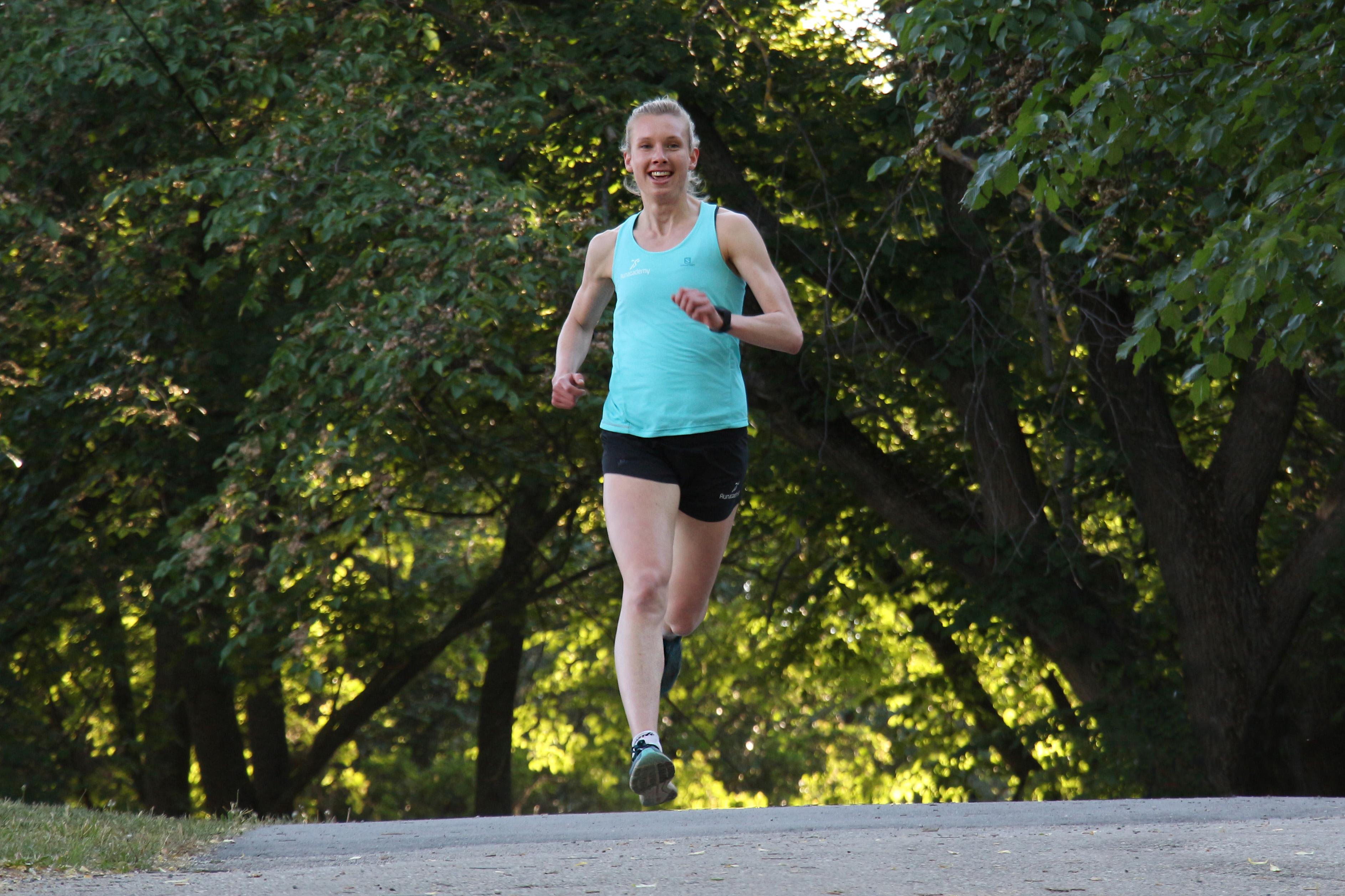 Med bättre löpteknik blir löpningen lättare