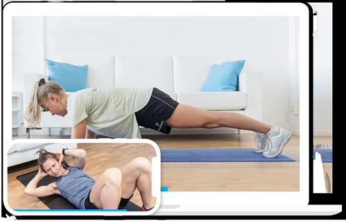 Onlineträning - alla våra träningspass kan du smidigt träna hemma!