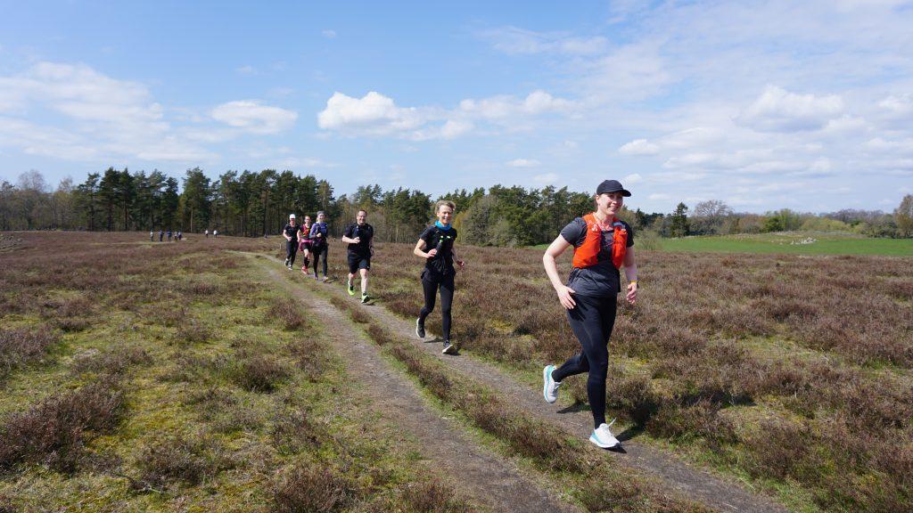 löpare springer på Österlen